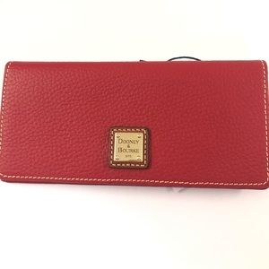 Dooney & Bourke Red Wallet